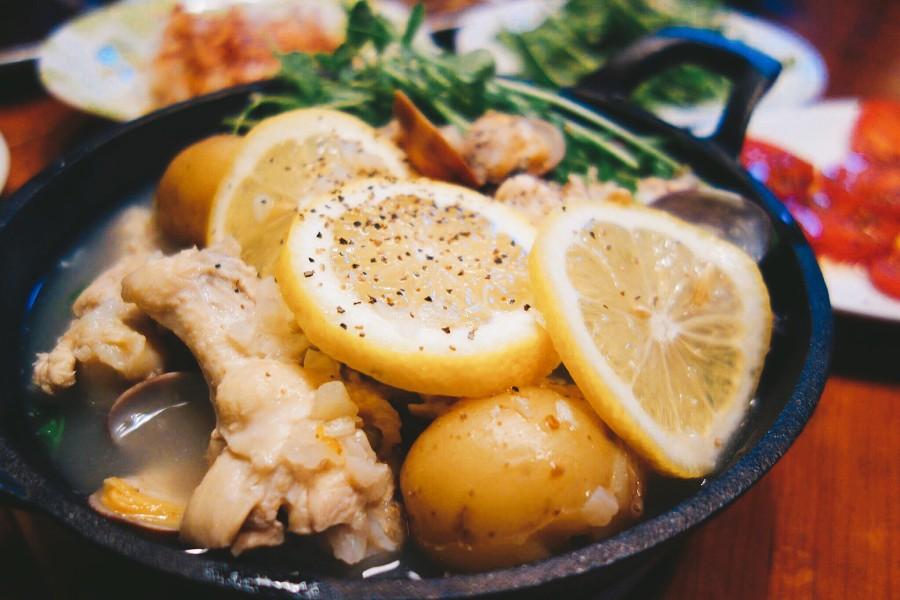 参鶏湯キット薬膳レシピ③【塩レモン参鶏湯】